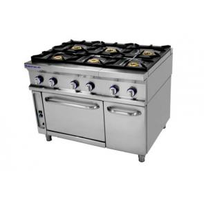 Cocina Industrial a Gas Repagás Serie 900 Modelo CG-961 LC