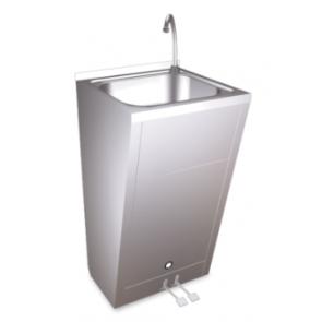 Lavamanos Registrable con Doble Pedal de Agua Fría y Caliente Fricosmos